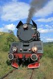 Retro steam train royalty free stock photo