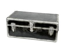 Retro Steamer Trunk Stock Photo