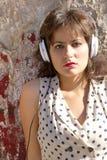 Retro stedelijke muziek Royalty-vrije Stock Afbeeldingen