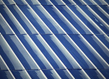 Retro steel roof Stock Images