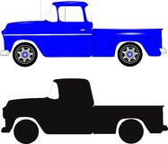 Retro step side truck Royalty Free Stock Photography