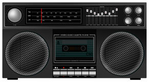 Retro Stereo Player Royalty Free Stock Photos