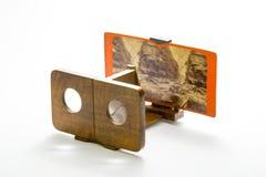 Retro stereo viewer Stock Image