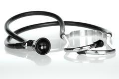 Retro stetoscopio Fotografie Stock Libere da Diritti