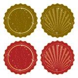 Retro stickers Royalty Free Stock Photos