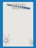 Retro stijl leeg menu Royalty-vrije Stock Fotografie