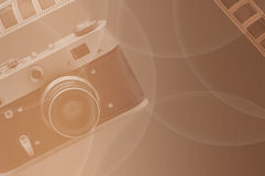 Retro stijl Verhaalfoto's Royalty-vrije Stock Afbeeldingen