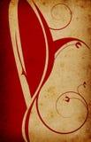 Retro stijldocument achtergrond Stock Afbeelding