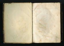 Retro stile le pagine di vecchi libri Fotografia Stock Libera da Diritti
