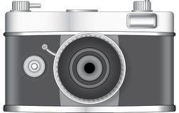 Retro stilfotokamera Arkivfoton