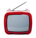 retro stilfull tv Royaltyfri Foto
