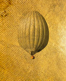 Retro stilluftballong Arkivbilder