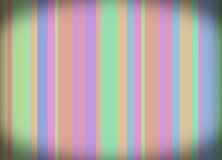Retro stiped wallpapers. Colorfull stripes on the wall Stock Photo