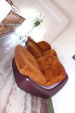Retro stoelen Royalty-vrije Stock Fotografie