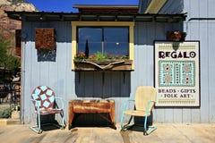 Retro stoelen de V.S. Stock Foto's