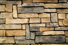 Retro stone wall background Royalty Free Stock Photography