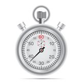 Retro stopwatch Stock Photography