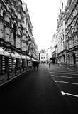 Retro straat Royalty-vrije Stock Foto