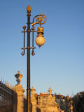 Retro street lamp Stock Photography