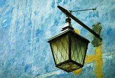 Retro street lamp Stock Photos