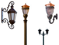 Retro street lamps Royalty Free Stock Photos