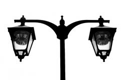 Retro street lamps Stock Image