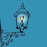 Retro street lantern Royalty Free Stock Images