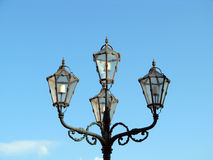 Retro street light Stock Images