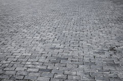 Retro street tiles pattern Royalty Free Stock Images