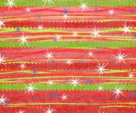 Free Retro Stripe Christmas Print 2 Royalty Free Stock Photography - 3451387