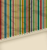 Retro stripe vintage with copyspace for text Royalty Free Stock Photo
