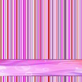 Retro striped. 1970s retro striped background with place for text Stock Illustration