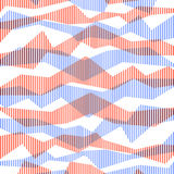 Retro striped abstract background. Vector background Royalty Free Stock Photos
