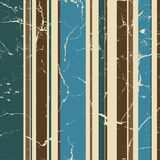 Retro striped background. In cold blue shades Stock Image