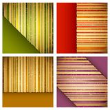 Retro Striped Background Stock Image