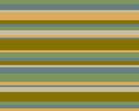 Retro striped background. Retro blue, orange, brown and green striped graphic design Stock Photos