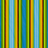 Retro striped background. In blue, yellow, green Stock Photo