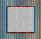 Retro striped frame Royalty Free Stock Photos