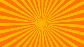 Retro striped sunburst background with grunge effect, computer generated backdrop, 3D render. Ing vector illustration