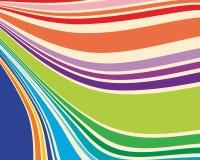 Retro stripes royalty free illustration
