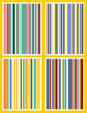 Retro stripes Royalty Free Stock Image