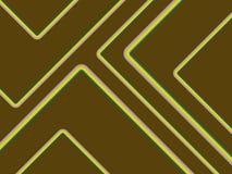 Retro Stripes On Brown Royalty Free Stock Image