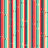 Retro stripes seamless pattern Stock Photos