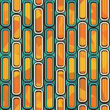 Retro stripes. Seamless pattern. Royalty Free Stock Images