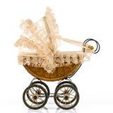 Retro stroller Stock Image