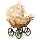 Retro stroller Stock Images