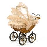 Retro stroller Royalty Free Stock Photos