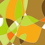 Retro- Strudel-Hintergrund lizenzfreie abbildung