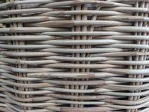 Retro struttura del tessuto del rattan della natura di concetto per fondo fotografia stock libera da diritti