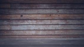 Retro struttura di legno d'annata di lerciume di legno di struttura fotografia stock